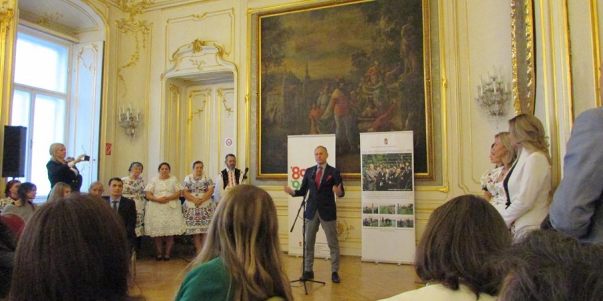 Bemutatkozás a Bécsi Nagykövetségen