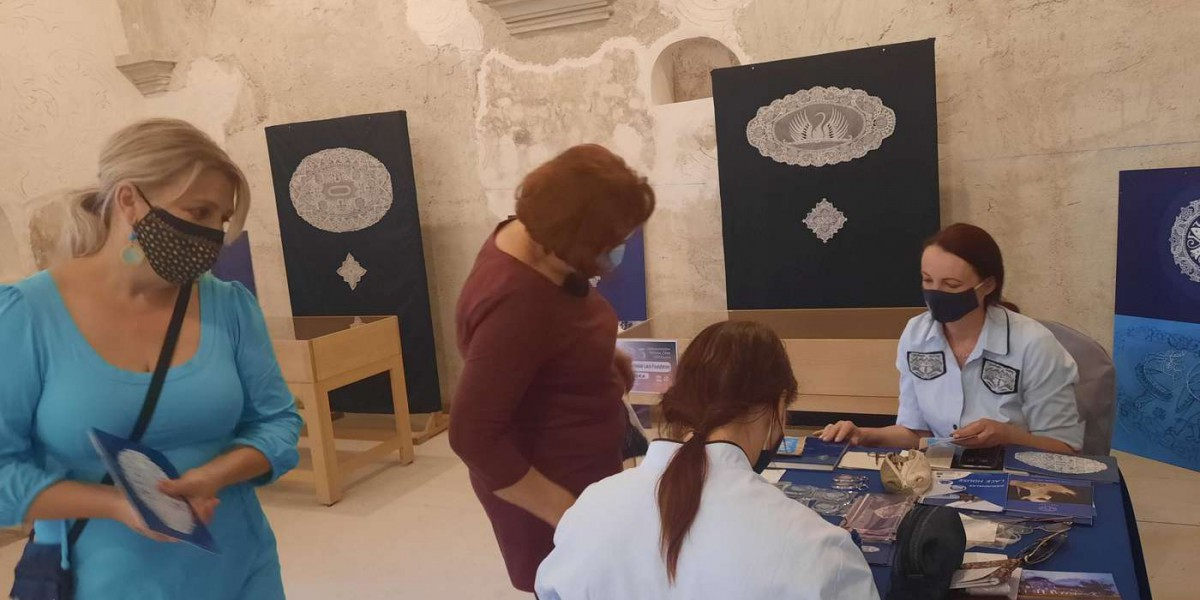 Halasi Csipke a 25. Nemzetközi Csipkefesztiválon a horvátországi Lepoglavában