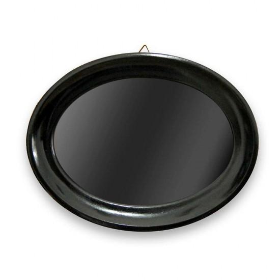 Fekete ovál keret