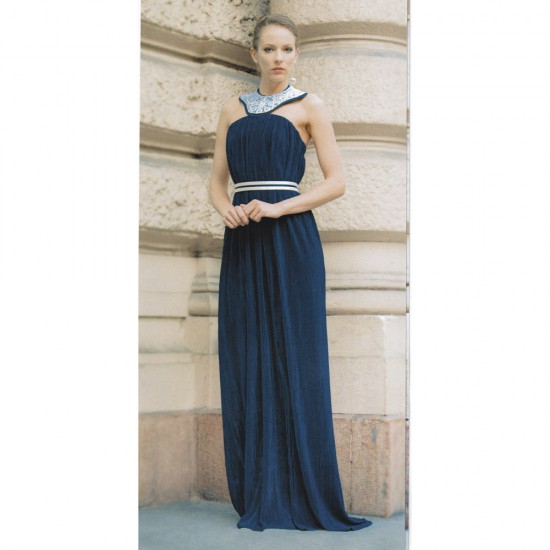Kék estélyi ruha