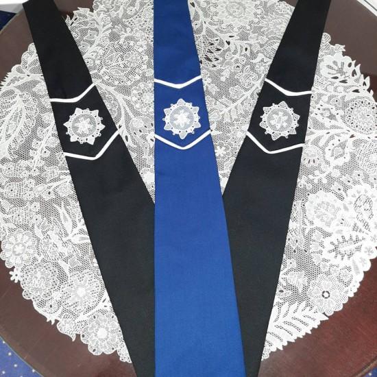 Nyakkendő halasi csipkével